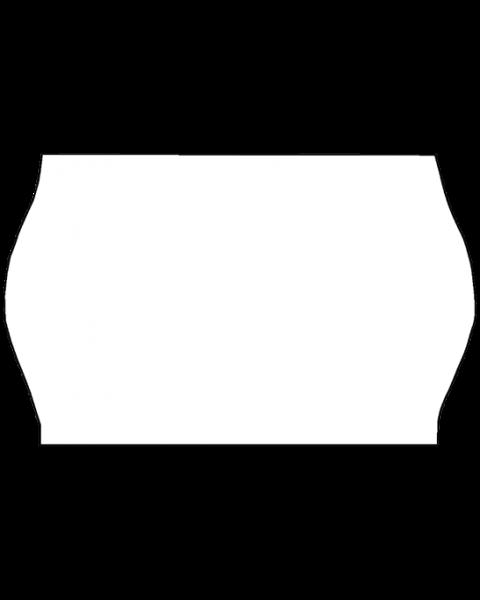Meto Etiketten, 26x16 mm, weiss, ablösbar