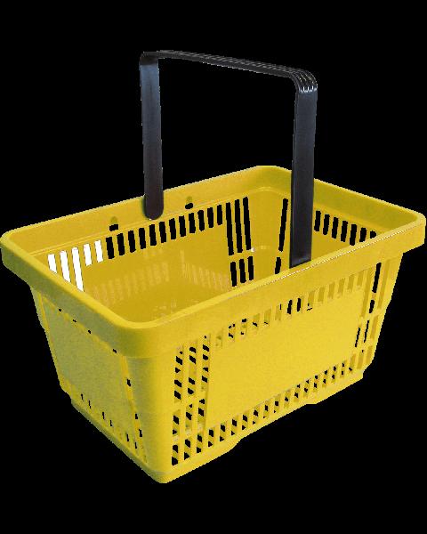 Einkaufskorb, gelb