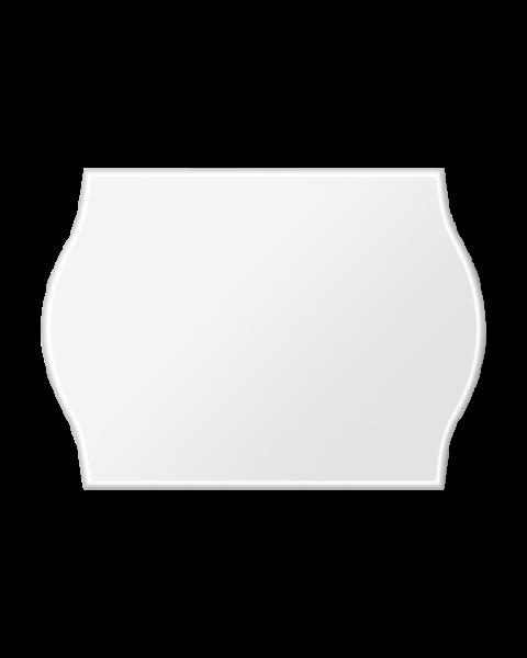 Etiquettes Arrow, 22x16 mm, blanches, permanent