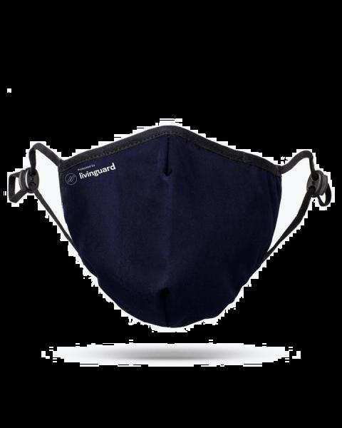 Schutzmaske Livinguard pro Mask, blau, S