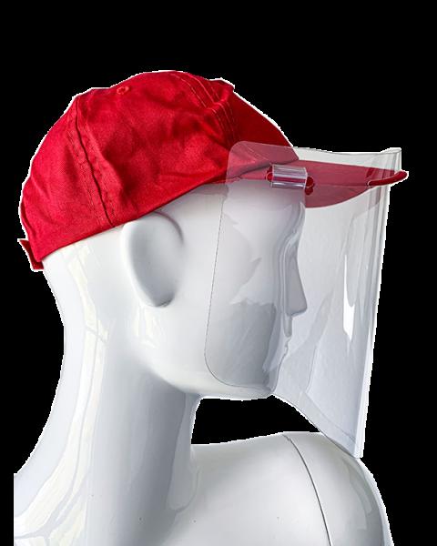 POS-T CapMask, protection pour le visage (visière sans casquette)