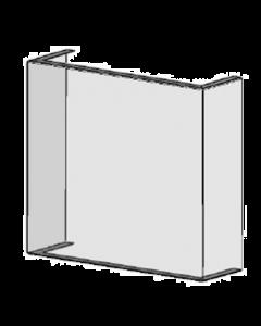 POS-T SpitPro U 100, Hygieneschutz und Spuckschutz für Infotheken ohne Durchreiche
