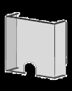 POS-T SpitProt UD 100, protection contre les postillons pour les points de vente et guichets avec ouverture/passage