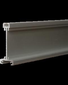 Aluminium-Abhängeschiene, 200 cm, silber