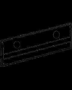 Regal-Klarsichtwechselrahmen 210 x 73 mm mit Magneten