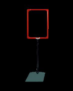 Rahmenständer DIN A3, rot