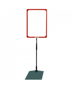 Rahmenständer DIN A4, rot