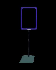 Rahmenständer DIN A4, blau
