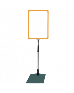 Rahmenständer DIN A4, gelb
