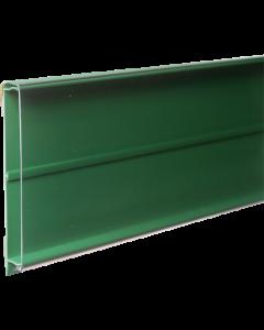 PromoSign Halteleiste geschlossen, 124 cm grün