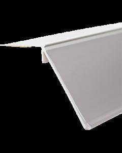 Regalpreisleiste, Klebeprofil, OEP HG 42/12 A, weiß/transparent, 42 x 1235 mm