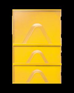 PromoLabel Getränke Displays gelb