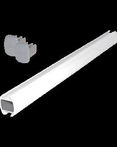 System-Abhängerohr 200 cm, weiß