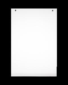Transparenter Plakathalter mit Aufhängeösen für Plakatformat DIN A1