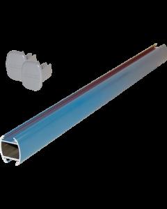 System-Abhängerohr 200 cm, blau