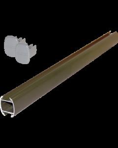 System-Abhängerohr 200 cm, grau