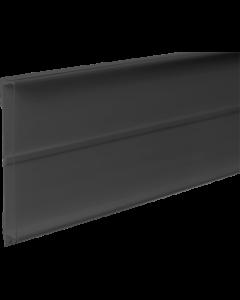 PromoSign Halteleiste geschlossen, 100 cm schwarz