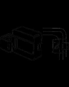 Rahmen-Wandmagnet schwarz, 6 kg