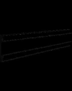 PromoSign Halteleiste offen, 100 cm grün