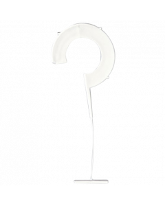 Heftfaden Ringhaken für Heftpistole Standard, 35 mm, weiß