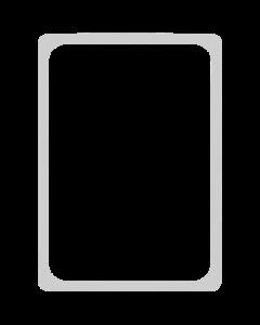 Kunststoff-Plakatrahmen DIN A4, graualuminium
