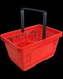 Einkaufskorb, rot