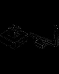 Rahmen-Magnet schwarz, 6 kg