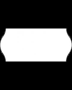 Etiquettes, 26x12 mm, blanches, permanent