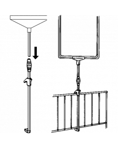 Aluminium Rahmen-Spannhalter für Körbe