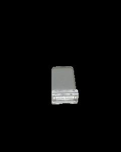 Liegehalter klein, transparent