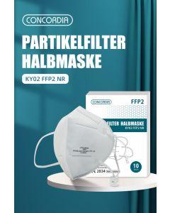 Masques de protection type FFP2 - 10 pièces