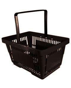 Einkaufskorb Schwarz - aus recyceltem Kunststoff