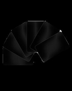 PVC Karten schwarz
