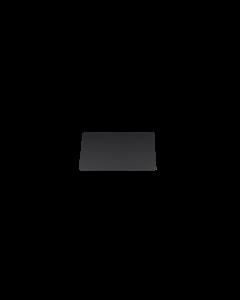 Holzstoffkarten/ Bluecards schwarz matt, 0.5 mm, CR80 85.6x54 mm