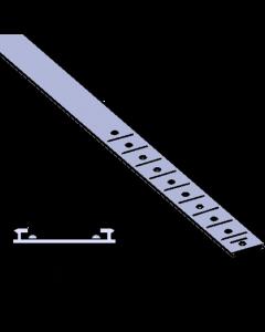 Rail glissant de guidage Vario F003, pour poussoirs, longueur 233-458 mm