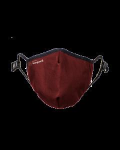 Schutzmaske Livinguard pro Mask, rot, M
