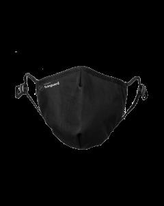 Masque de protection Livinguard, L, pro Mask, noir