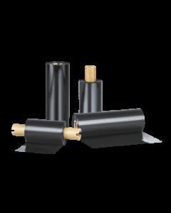 Ruban transfert thermique Standard cire/résine, 110 mm x 110 m, noir