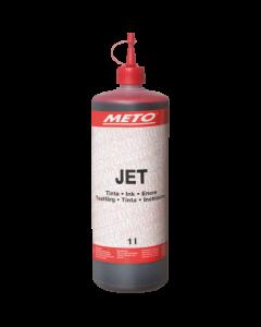 Plakattinte für Schreibgeräte Jet 3000/4000, rot
