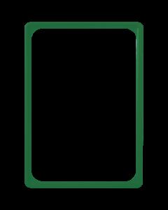 Kunststoff-Plakatrahmen DIN A4, grün
