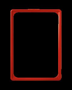Kunststoff-Plakatrahmen DIN A4, rot