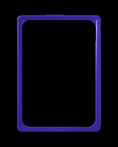 Kunststoff-Plakatrahmen DIN A4, blau