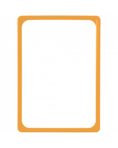 Kunststoff-Plakatrahmen DIN A4, gelb