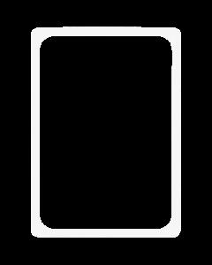 Kunststoff-Plakatrahmen DIN A4, weiß