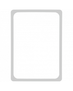Kunststoff-Plakatrahmen DIN A4, grau