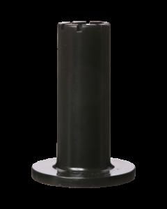 Bodenhalter für Metall-Bodenplatte, dunkelgrau