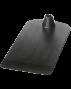 Kunststoff-Bodenplatte, dunkelgrau