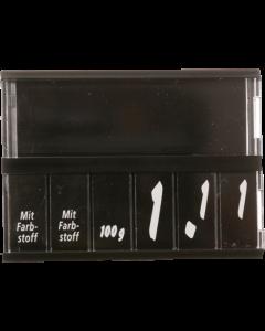 PromoSign Kassetten Fleisch/Wurst, schwarz