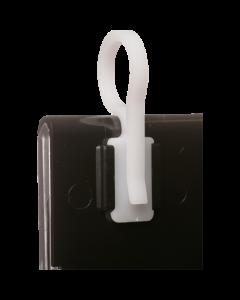 Promotion Abhängehaken, weiß, Durchmesser 16mm