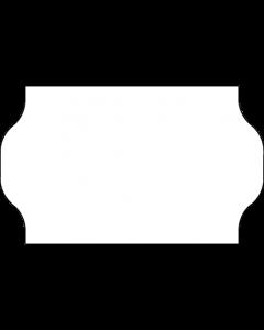 Meto Etiketten, 32x19 mm, weiss, permanent